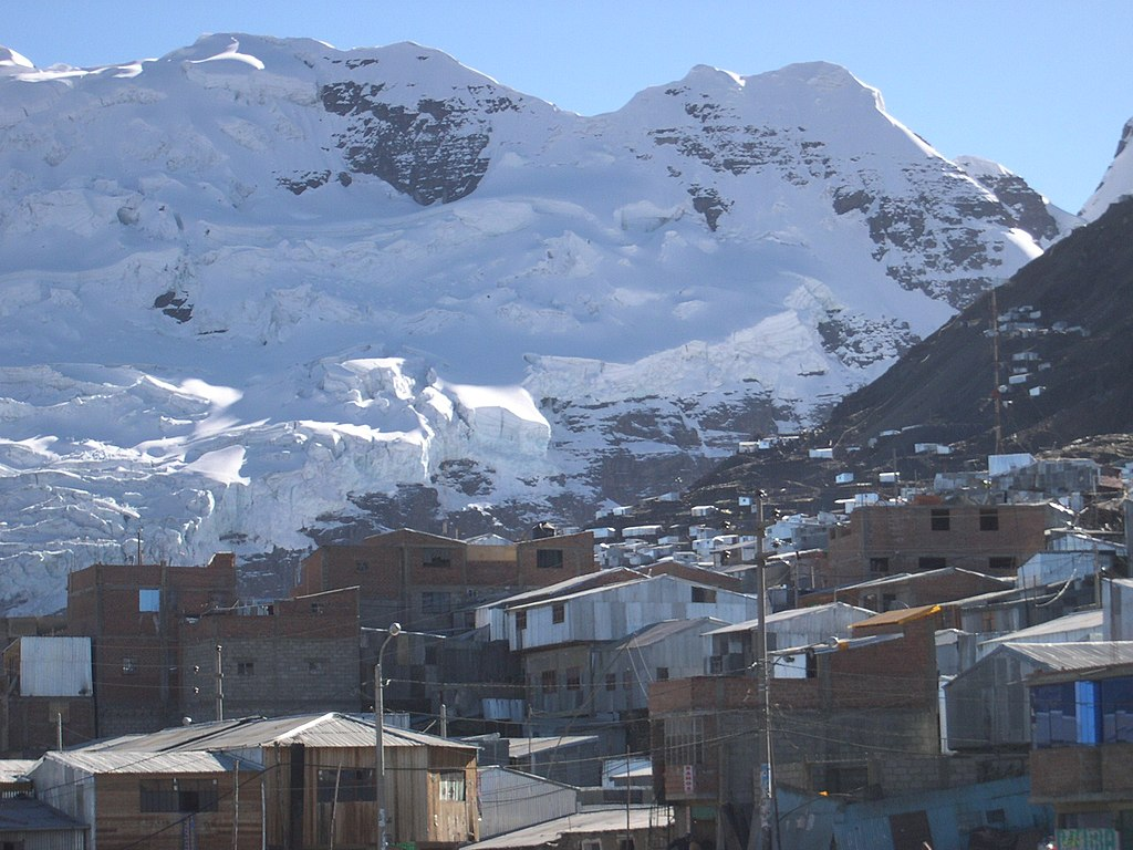 La Rinconada, Peru, the highest permanent human settlement