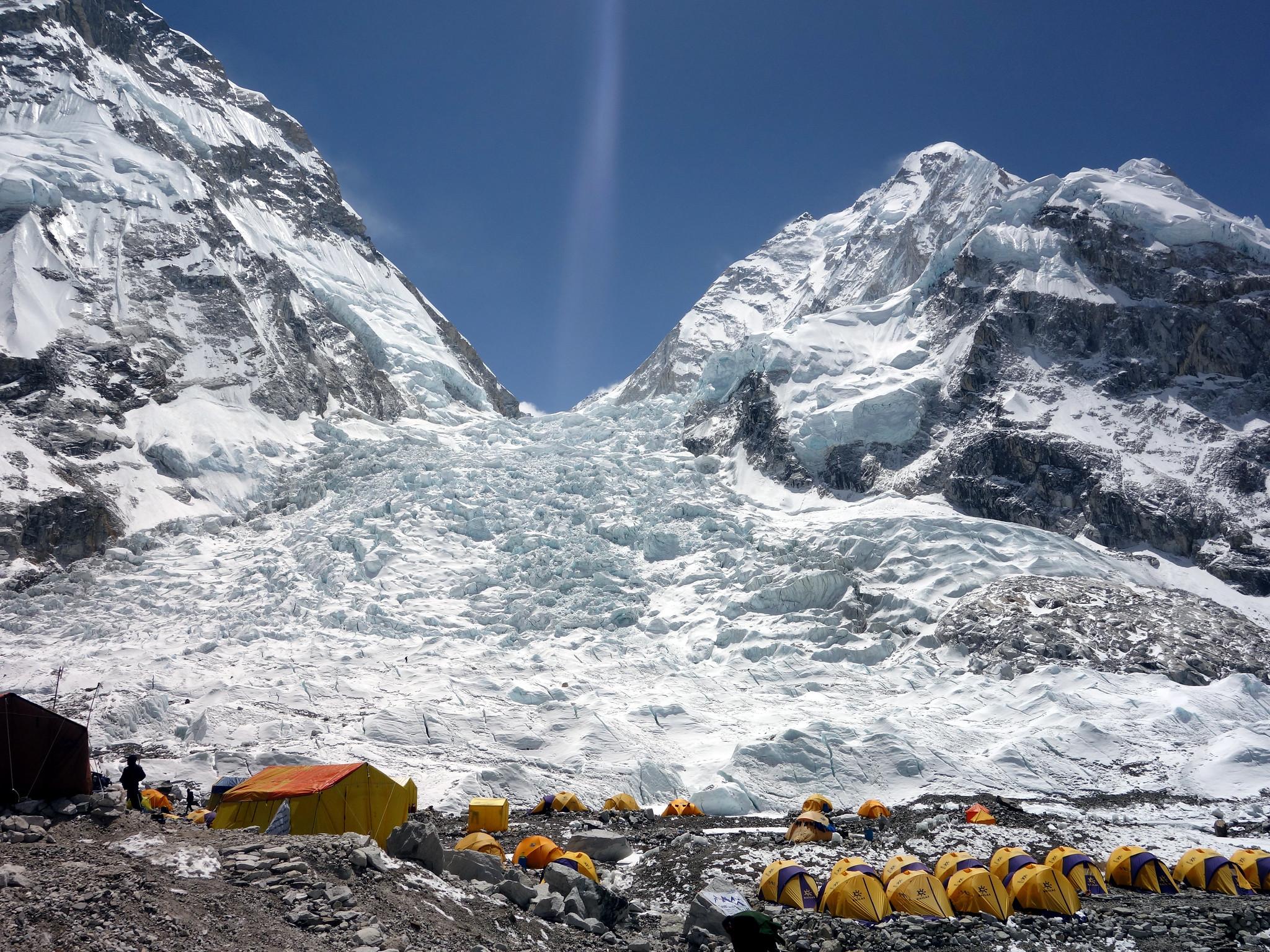 Base camp in Nepal