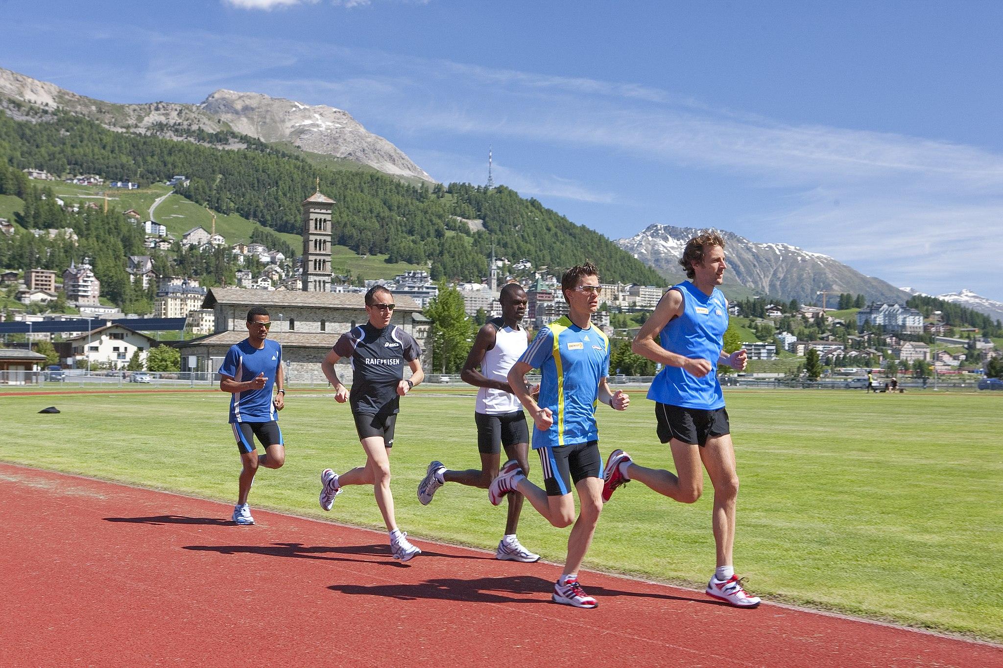 Athletic high altitude training